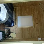 Back room of the Deluxe cabin