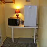 Every unit equipt with Fridge and Microwave