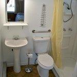 Three piece bath ... Accessible