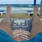 View from your sunbed!