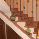escaleras habitaciones