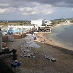 Spiaggia vista dalla camera