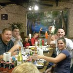Wonderful customers enjoying some great Cajun food :)