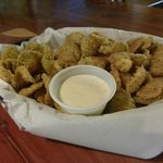 Fried Pickles made from scratch!