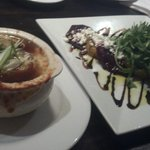 French Onion Soup & Roasted beets