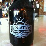 Get your Growler we sell them and we have 6 Montana craft beers on tap