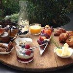 Breakfast Provençal, complements of Alice