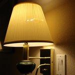 torn lampshade