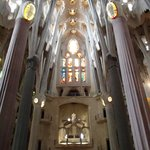 Basilica of the Sagrada Family Inside