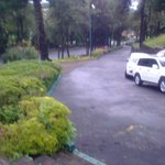 Vista desde la entrada