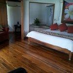 Tikki luxury room.