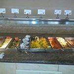 buffet pranzo questo era tutto esclusa insalata e dolci INDECENTE