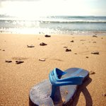 morning at nusa dua beach