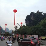 Located near the center of Yangshuo