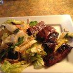 Teryaki Beef Steak Salad