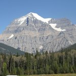 Mt Robson, what a fantastic sight