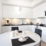 Duplex fully equipped kitchen