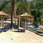 Spiaggia di Antisamos ad ottobre