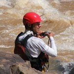 Documenting the action, Tugela River, South Africa
