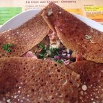 my delicious buckwheat pancake
