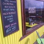 Grill sandwiches , matebar , free wifi