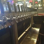 Our lovely Beer Taps