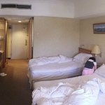 Triple bed room - 1 double bed and 1 single bed