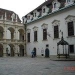 Landhaus cortyard