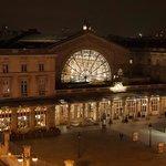Gare de l'est (dalla finestra della camera)