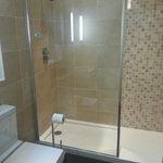 Real attractive bathroom / shower