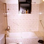 King Room Washroom with Bath Tub