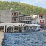 View of the restaurant from Drapano Bridge