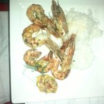 The amazing seafood (prawns)