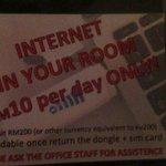 Internet for RM10...