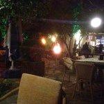 Garden at Jiks bar, Dalyan