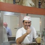 De kok van Alianthos Beach