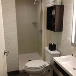 Small but functional bathroom