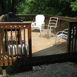 Deck and grill