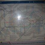 mappa della metropolitana che servirà per muoversi