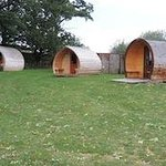 The Camping pods