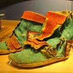 Shoes from distant cultures