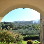 The Tuscan countryside surrounding Cas Portagioia.