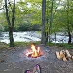 Ahhhhh.....relaxing by the campfire