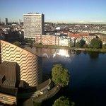 View of Copenhagen from Scandic 13th Floor