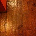 Suelo de toda la casa de madera