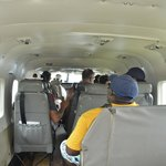 In flight on our way to Kayana Airstrip