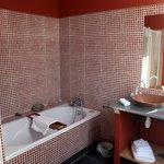 Moderner Badbereich