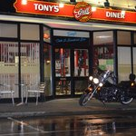 early morning at tony`s