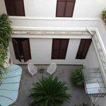 cute little courtyard on 2nd floor