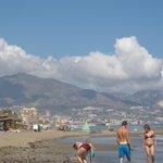 Fuengirola from the beach